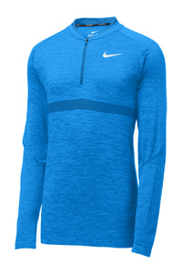 Nike Seamless 1/2-Zip Cover-Up_Blue Nebula/Gym Blue