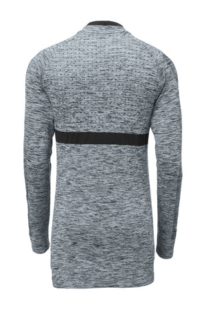 Nike Seamless 1/2-Zip Cover-Up_Wolf Grey/Black
