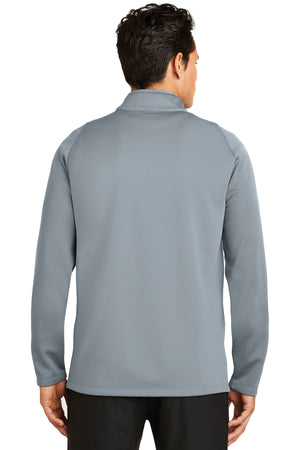 Nike Therma-FIT Hypervis 1/2-Zip Cover-Up_Cool grey/Photo blue