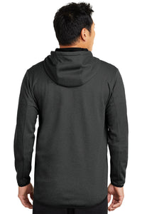 Nike Therma-FIT Textured Fleece Full-Zip Hoodie_Black