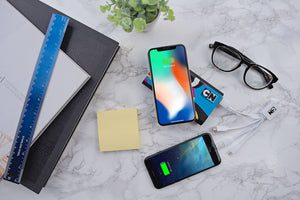 Octoforce 8000mAh Wireless Power Bank - FlywheelPromotions.com