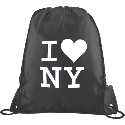 Polyester Drawstring Backpack - FlywheelPromotions.com