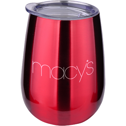 Stainless Steel Wine Tumbler - FlywheelPromotions.com