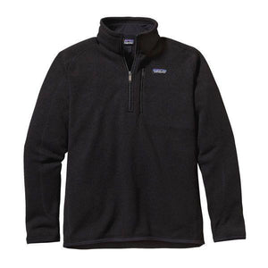 Patagonia Men's Better Sweater 1/4 Zip_Black