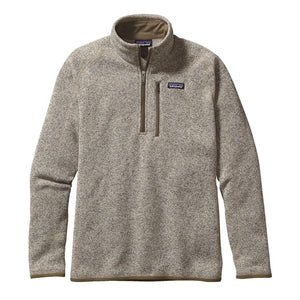 Patagonia Men's Better Sweater 1/4 Zip_Bleached Stone