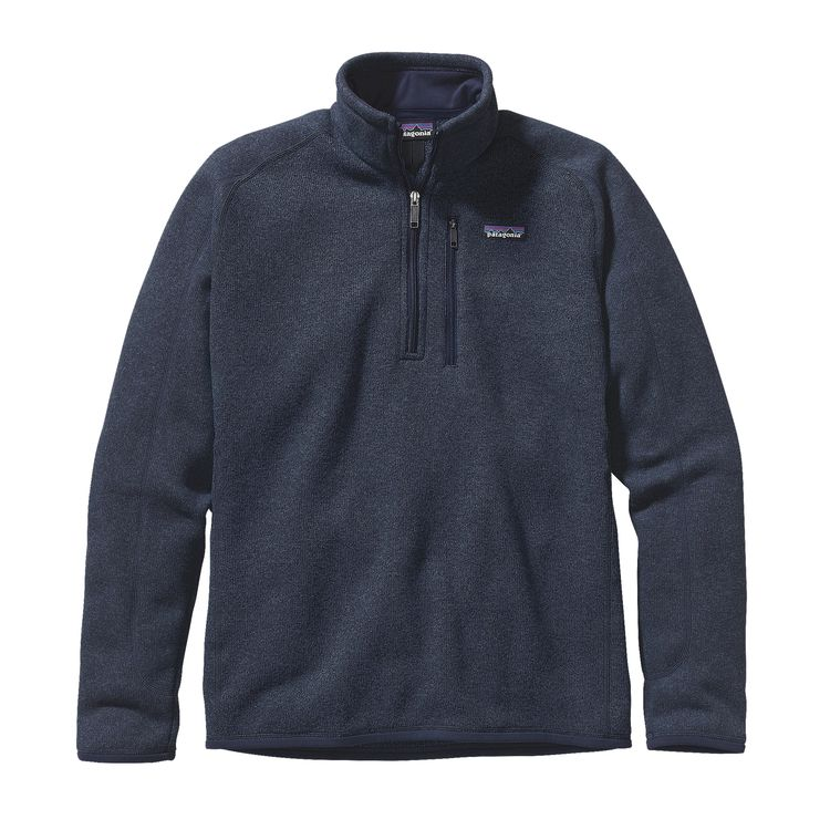 Patagonia Men's Better Sweater 1/4 Zip_Classic Navy