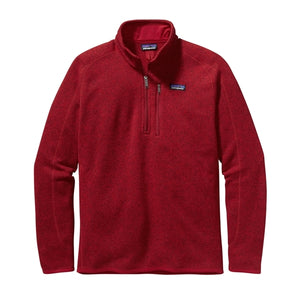 Patagonia Men's Better Sweater 1/4 Zip_Classic Red