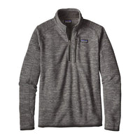 Patagonia Men's Better Sweater 1/4 Zip_nickel