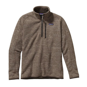 Patagonia Men's Better Sweater 1/4 Zip_Pale Khaki