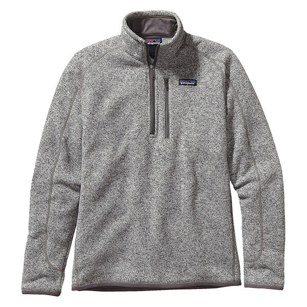 Patagonia Men's Better Sweater 1/4 Zip_Stonewash