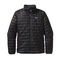 Patagonia Men's Nano Puff Jacket_Black