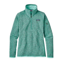 Patagonia Women's Better Sweater 1/4 Zip_Bend Blue