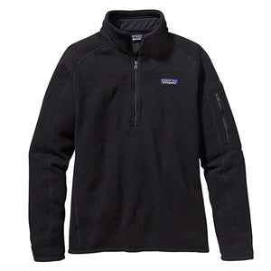 Patagonia Women's Better Sweater 1/4 Zip_Black
