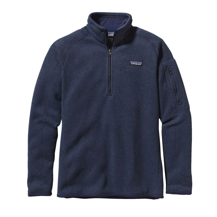Patagonia Women's Better Sweater 1/4 Zip_Classic Navy