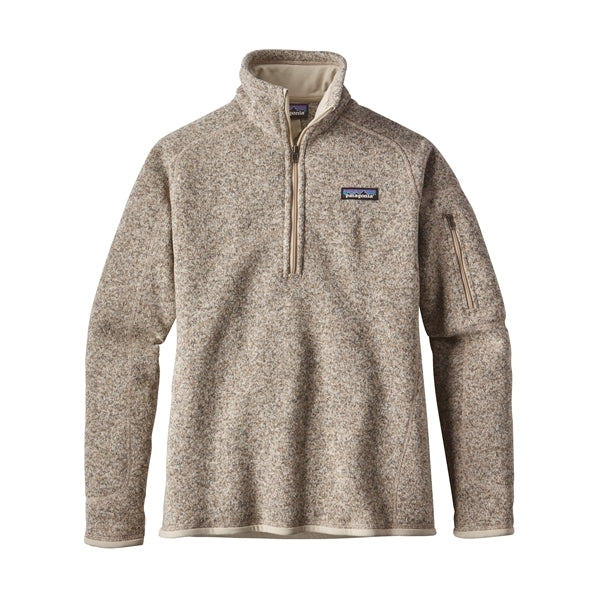 Patagonia Women's Better Sweater 1/4 Zip_Pelican