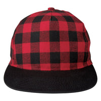 Northwoods Structured Plaid Hat Front