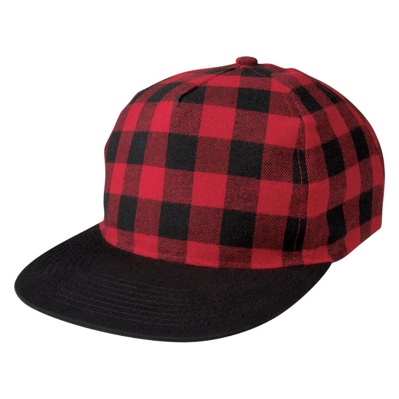 Northwoods Structured Plaid Hat Side