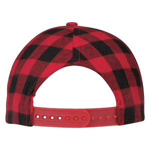Northwoods Structured Plaid Hat Back