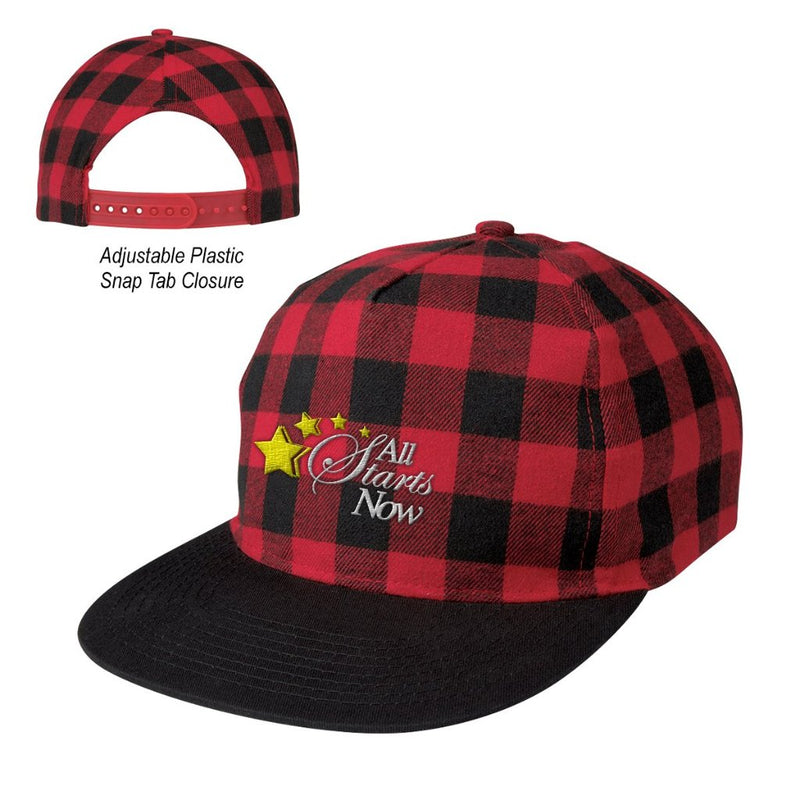 Northwoods Structured Plaid Hat