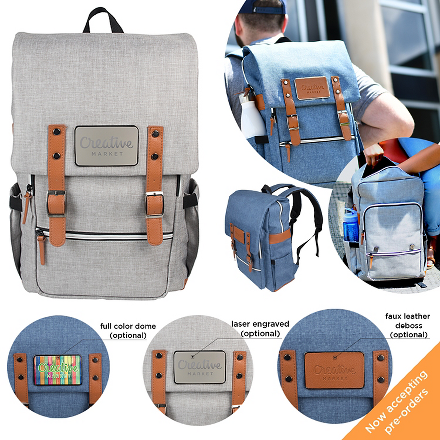 Rambler Backpack - FlywheelPromotions.com