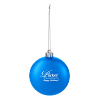Round disc ornament - Blue