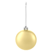 Round disc ornament - Gold