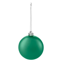 Round disc ornament - Green
