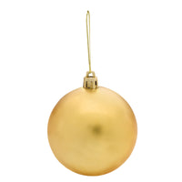 Round Ball Tree Ornament - Gold