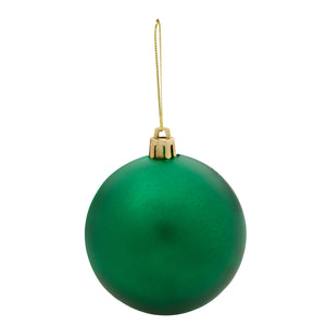 Round Ball Tree Ornament - Green