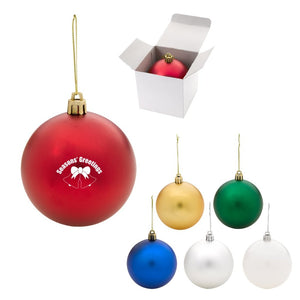 Round Ball Tree Ornament