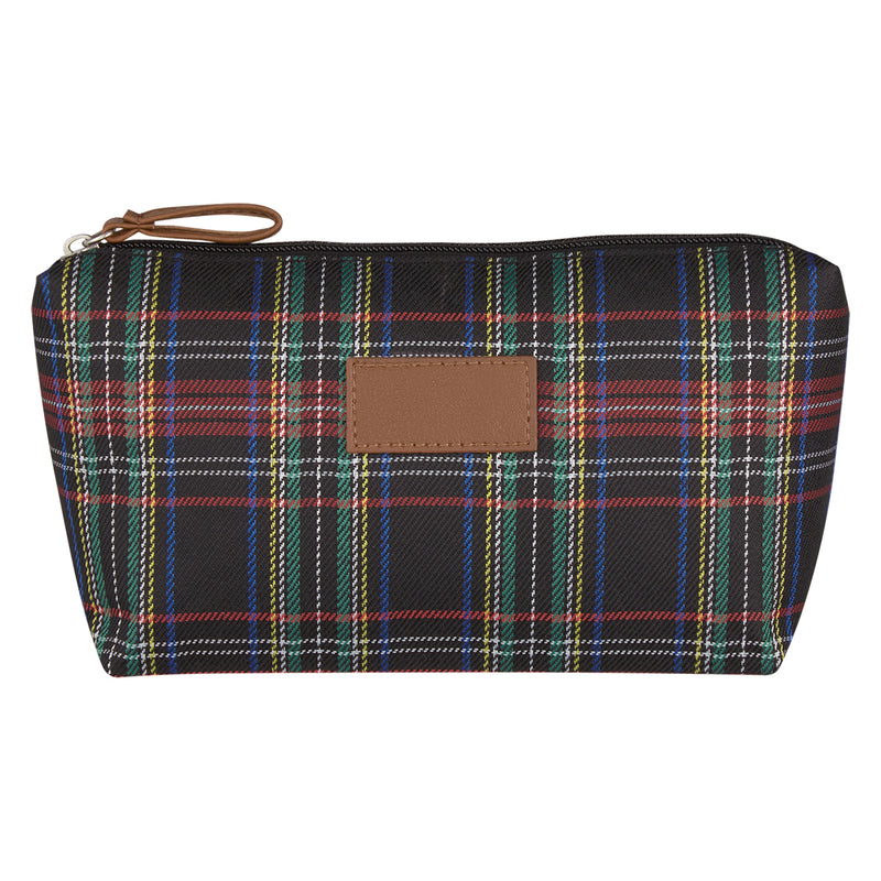 Soho Tartan Cosmetic Bag - Multi-Color