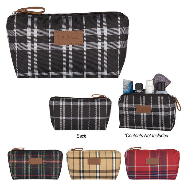 Soho Tartan Cosmetic Bag