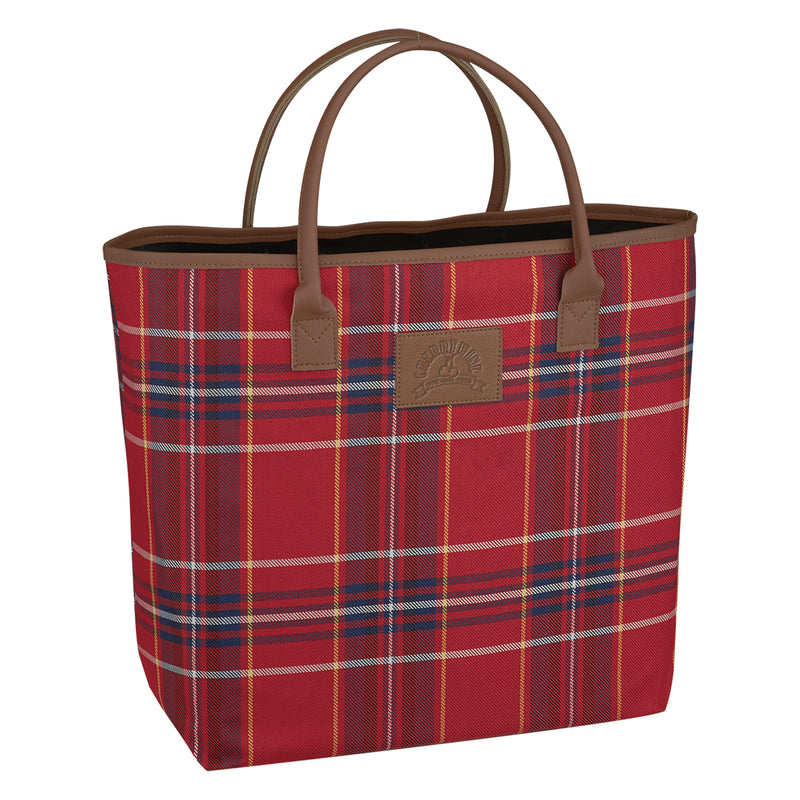 Custom Soho Tote Bag Red/Navy