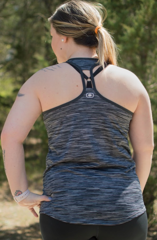 OGIO® ENDURANCE Ladies Verge Racerback Tank - FlywheelPromotions.com