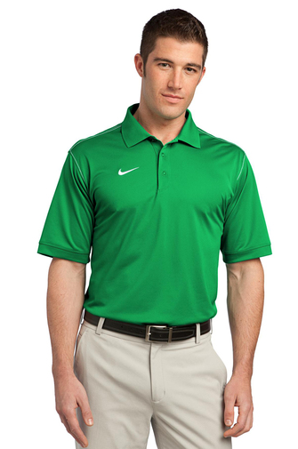 Nike Dri-FIT Sport Swoosh Pique Polo - FlywheelPromotions.com