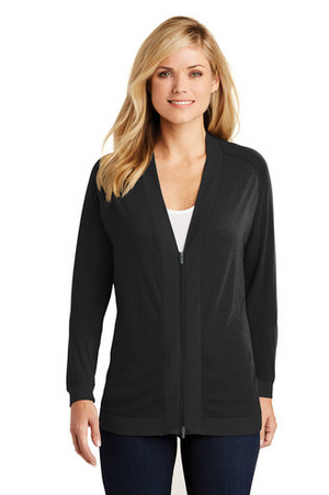 Port Authority® Ladies Concept Bomber Cardigan - FlywheelPromotions.com