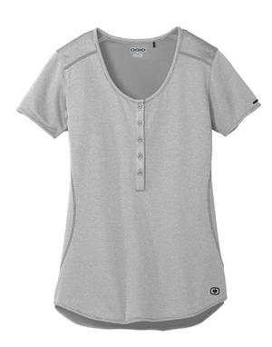 Ogio® Ladies Orbit Henley - FlywheelPromotions.com