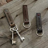 Bailey Riveted Keychain - FlywheelPromotions.com