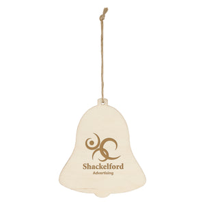 Wooden Ornament - Bell