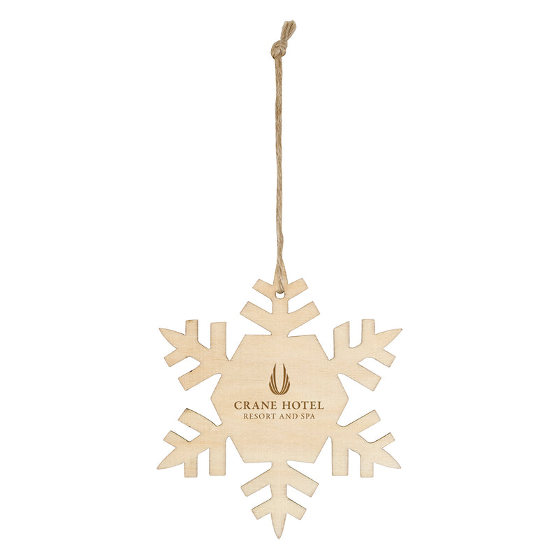 Wooden Ornament - Snow Flake
