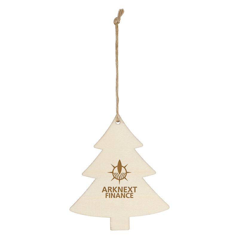 Wooden Ornament - Christmas Tree