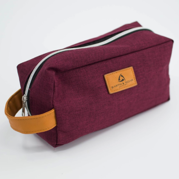 Heathered Toiletry Bag - FlywheelPromotions.com