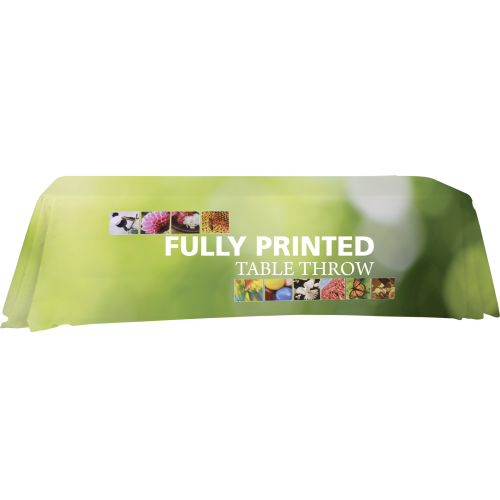 Printed Table Throw - FlywheelPromotions.com