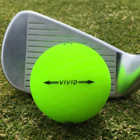 Volvik Vivid Golf Balls 3-count with Clear Tube - FlywheelPromotions.com