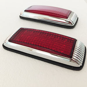 Hot Rod 1941 Ford Style Tail Light - Flush Mount - 21 LED - 1 Pair