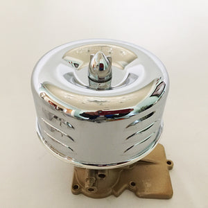 Custom Air Cleaners for Single and Double Barrel Carburetors