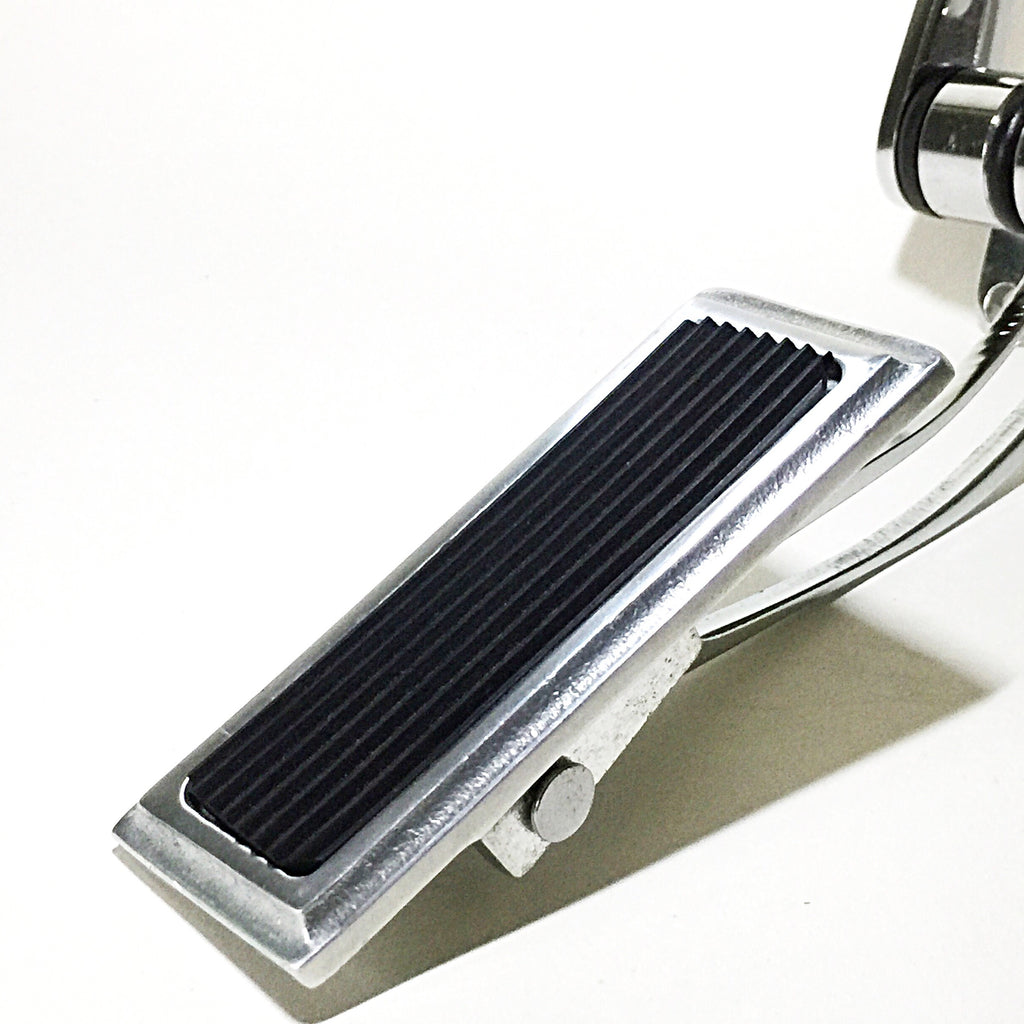 Hinged Throttle Pedal - Full Pad- Chrome
