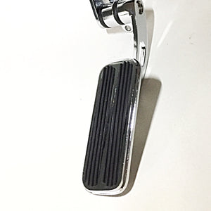 Hinged Throttle Pedal - Chromed - Small