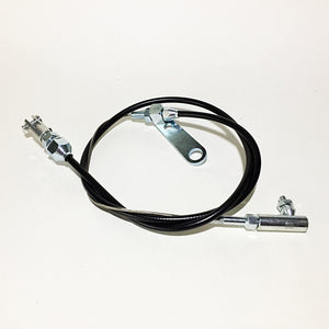 Universal Carburetor Throttle Cable - Black