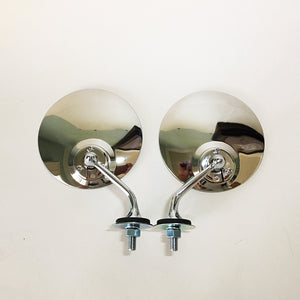 MG Style Rear View Mirrors - 1pr